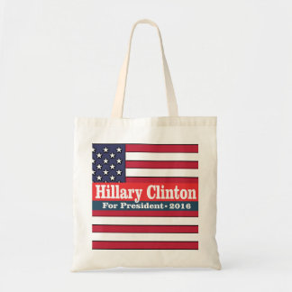 Hillary Clinton for President 2016 Budget Tote Bag
