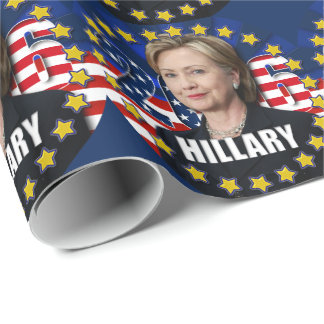 Hillary Clinton for president 2016 Wrapping Paper