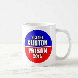 """HILLARY CLINTON FOR PRISON 2016"" COFFEE MUG"