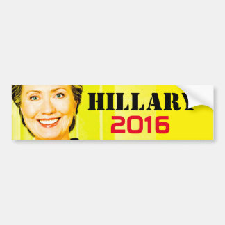Hillary Clinton for US President 2016 Bumper Sticker