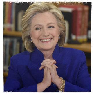 Hillary Clinton It Takes A Village Gift Napkin