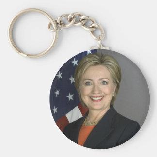Hillary Clinton Key Ring