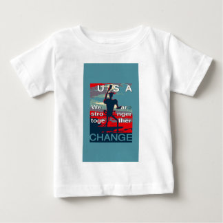 Hillary Clinton latest campaign slogan for 2016 Baby T-Shirt