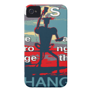 Hillary Clinton latest campaign slogan for 2016 iPhone 4 Case-Mate Case