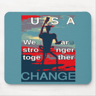 Hillary Clinton latest campaign slogan for 2016 Mouse Pad