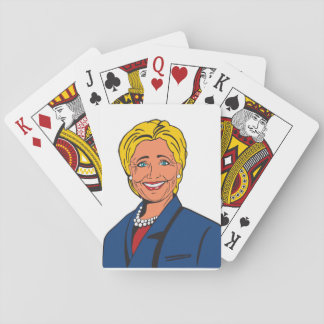 Hillary Clinton Playing cards