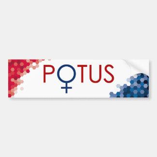 Hillary Clinton POTUS 2016 Bumper Sticker