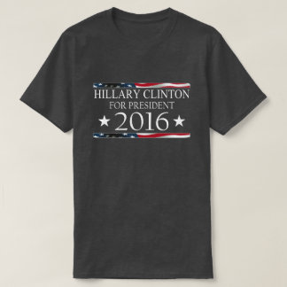 Hillary Clinton President 2016 American Flag Tees