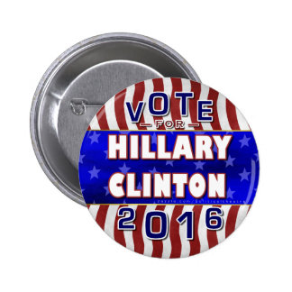 Hillary Clinton President 2016 Election Democrat 2 Inch Round Button