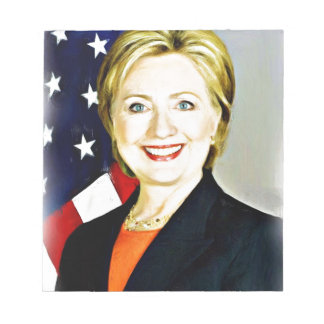 Hillary Clinton-President of USA_ Notepad