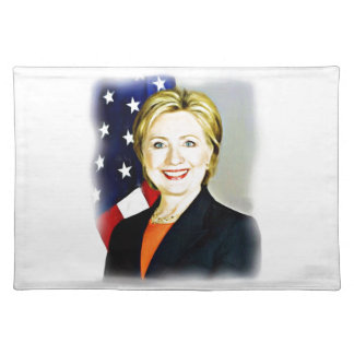 Hillary Clinton-President of USA_ Placemat