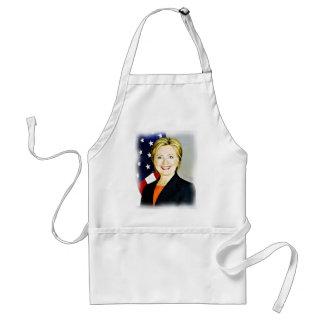 Hillary Clinton-President of USA_ Standard Apron