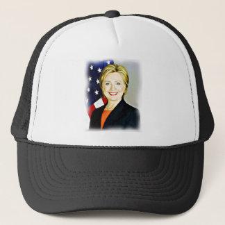 Hillary Clinton-President of USA_ Trucker Hat