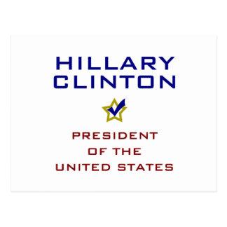 Hillary Clinton President USA V2 Postcards