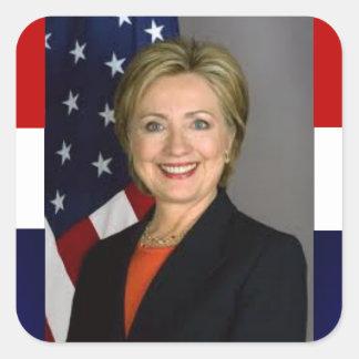 Hillary Clinton Presidential Sticker