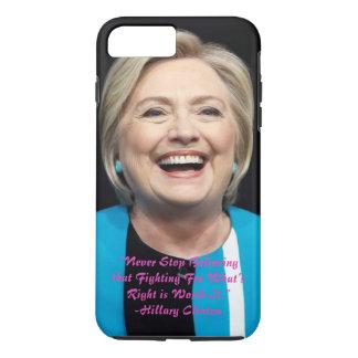 Hillary Clinton-Resistance iPhone 8 Plus/7 Plus Case