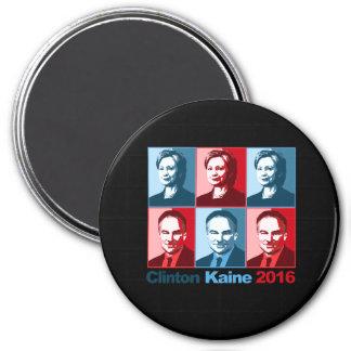 Hillary Clinton Tim Kaine 2016 - Block Art - Magnet