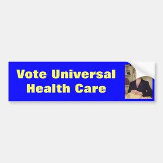 Hillary Clinton Universal Health Care Bumper Sticker