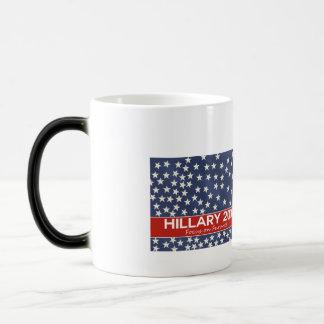 Hillary Focus on Future Magic Mug