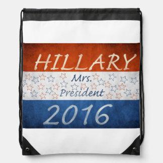 Hillary for President 2016 Drawstring Bags