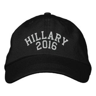 Hillary For President 2016 Embroidered Baseball Cap