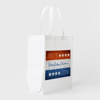 Hillary for President 2016 Reusable Grocery Bag