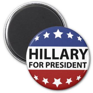 Hillary For President Magnet