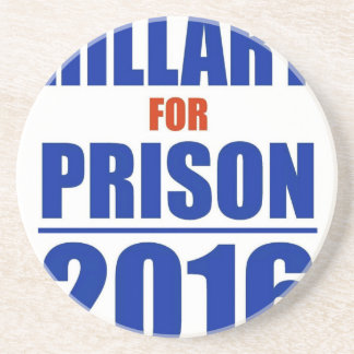 Hillary for Prison 2016 Coaster