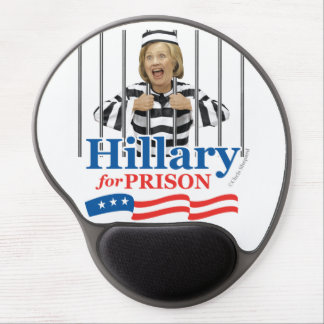 HILLARY FOR PRISON! Lock Her Up Jail Cell Prisoner Gel Mouse Pad