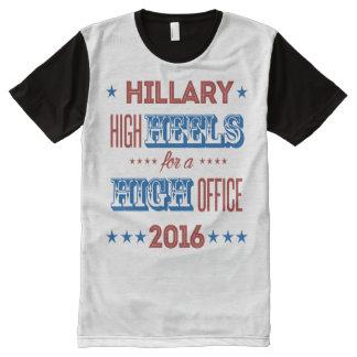 Hillary - High Heels for a High Office - All-Over Print T-Shirt