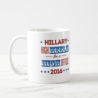 Hillary - High Heels for a High Office - Coffee Mug