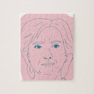 Hillary Jigsaw Puzzle