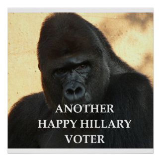 hillary joke poster
