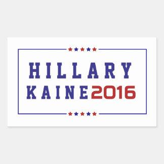 Hillary Kaine - Election 2016 Rectangular Sticker