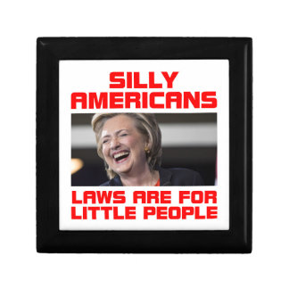 HILLARY LITTLE PEOPLE SMALL SQUARE GIFT BOX