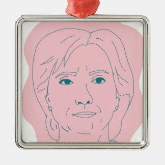 Hillary Metal Ornament