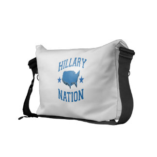 HILLARY NATION 2016 COURIER BAGS