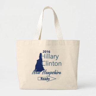 Hillary NEW HAMPSHIRE 2016 Jumbo Tote Bag