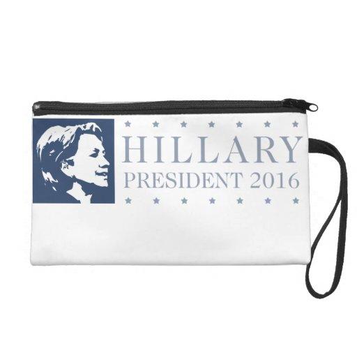 Hillary - president 2016 wristlet clutch