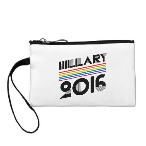 HILLARY PRIDE 2016 VINTAGE COIN WALLET