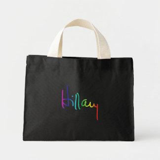 Hillary Pride Rainbow -.png Mini Tote Bag