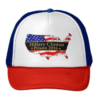Hillary Prison prison 2016 popular anti hillary Cap