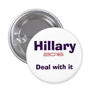 Hillary R Clinton 2016 Pin