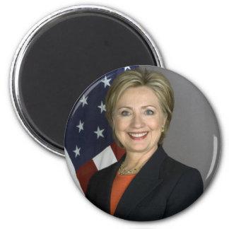 Hillary Rodham Clinton 6 Cm Round Magnet
