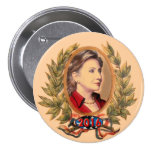 Hillary Rodham Clinton for President 2016 Pinback Button