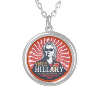 Hillary Shades Silver Plated Necklace