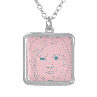 Hillary Silver Plated Necklace