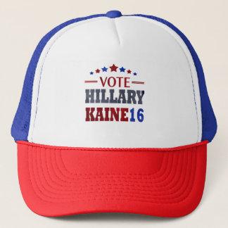HillaryKaine16 Hillary Clinton and Tim Kaine Trucker Hat