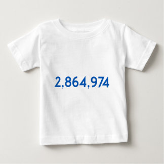 Hillary's Popular Vote Win Baby T-Shirt