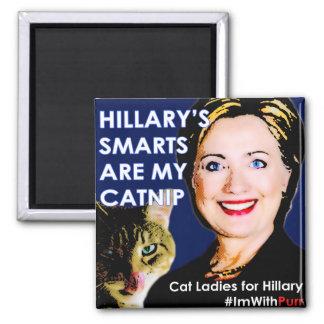 Hillary's Smarts Catnip Magnet